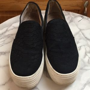 Steve Madden platform slip on sneakers
